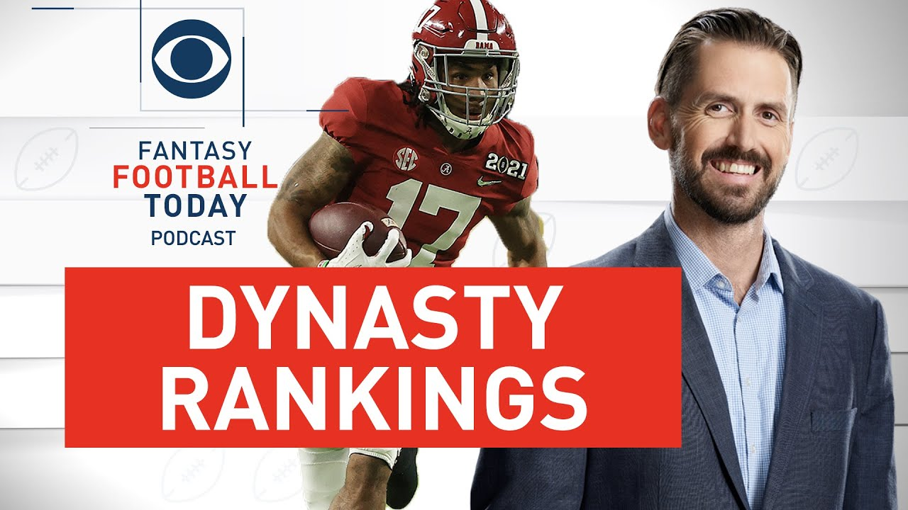 Dynasty ROOKIE RANKINGS and Buy Low/Sell High with Matt Price   2021 Fantasy Football Advice