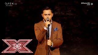 «Ποια νύχτα σ' έκλεψε» από τον Γιάννη Γρόση   Live 5   X Factor Greece 2019