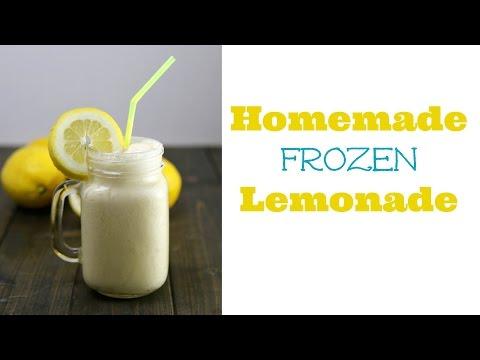 Homemade Frozen Lemonade Recipe!   Sweet Treats Ep. 10