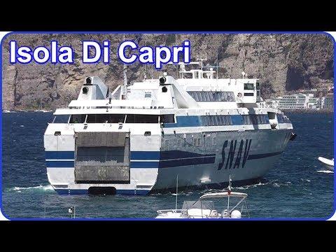 SNAV High Speed Ferry - Isola Di Capri  - Sorrento Port, Italy