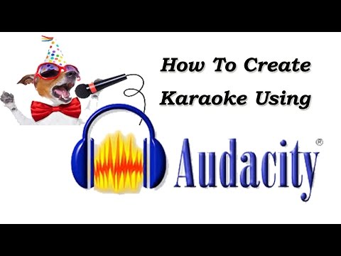 Make Karaoke Using Audacity Simple Method For Removing Vocal