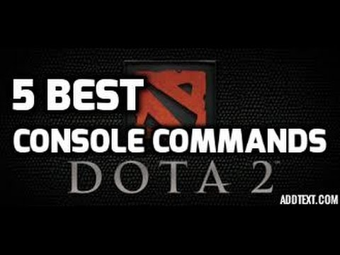 5 most useful Dota 2 concole commands