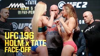 UFC 196 Weigh-Ins: Holly Holm vs. Miesha Tate