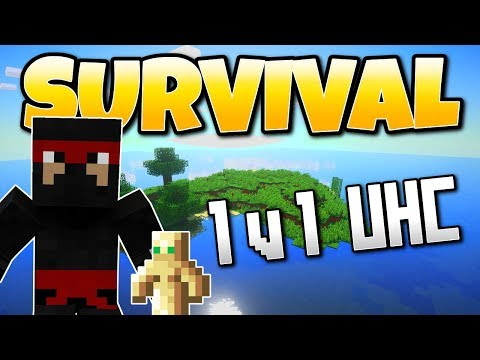 Minecraft Ultra Hard Core 1 v 1 (IbxToycat) Totem of Undying Challenge PS4 Gameplay