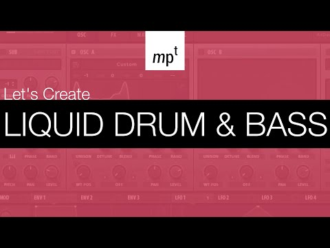 Ableton Live - LET'S CREATE: Liquid Drum And Bass