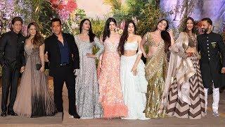 Full HD Video: Salman Khan, Jhanvi Kapoor, Shah Rukh Khan At Sonam Kapoor