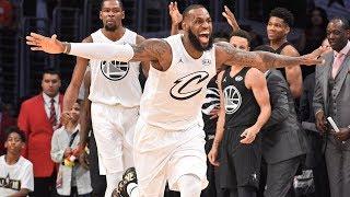 Team LeBron vs Team Steph! NBA All-Star Game 2018!