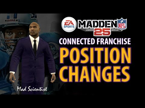 MADDEN 25 Position Changes CFM