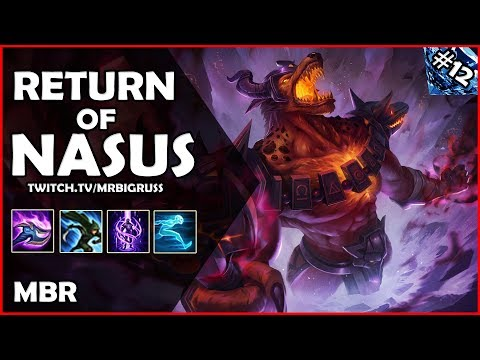 Nasus Returns On Twitch | New Video Edit!! | Infernal Nasus Vs Yorick | Road To Diamond #11