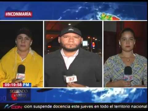 Reporte desde la provincia María Trinidad Sánchez, Pto. Plata y Punta Cana