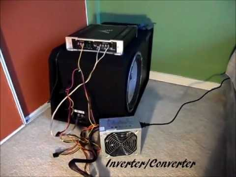 Car Stereo/Subwoofer Set Up/Install In Home/House (How To)