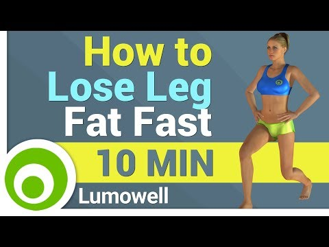 How to Lose Leg Fat Fast