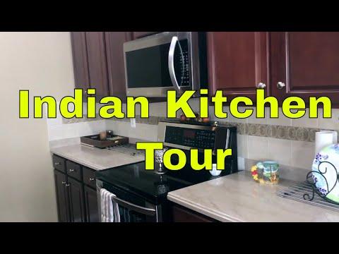 Indian Kitchen Tour / Kitchen Organization Idea / Ami's Lifestyle