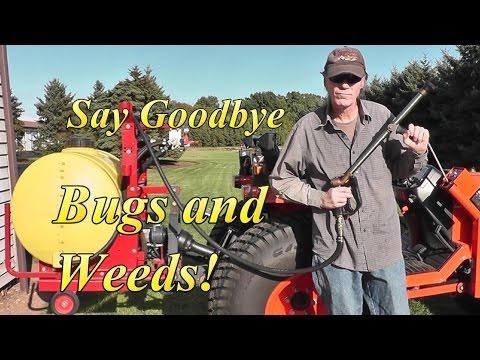 Homemade Bug and Yard Sprayer 3 Guns and Boom Demo Too!