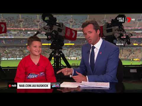 2018 NAB AFL Auskicker of the Year – Rd 8 Nominee