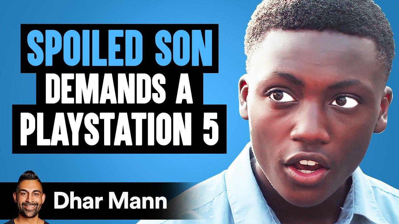 Son Demands A PlayStation 5, Then Mom Teaches Him An Important Lesson   Dhar Mann