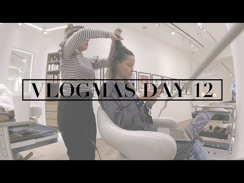 VLOGMAS DAY 12 | I'm into Latex | New Haircut