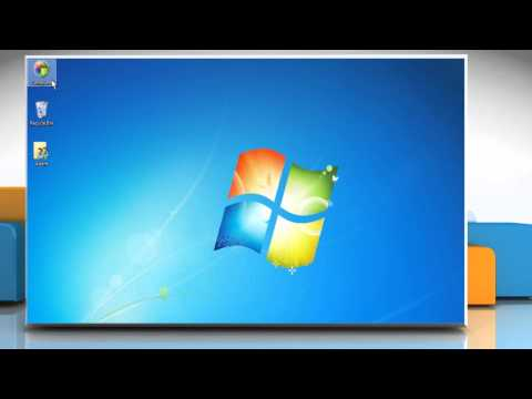 How to change desktop icons on Windows® 7