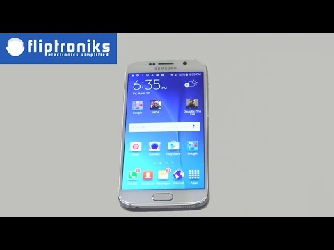 Samsung Galaxy S6: How to Change Text Messages Background Style - Fliptroniks.com