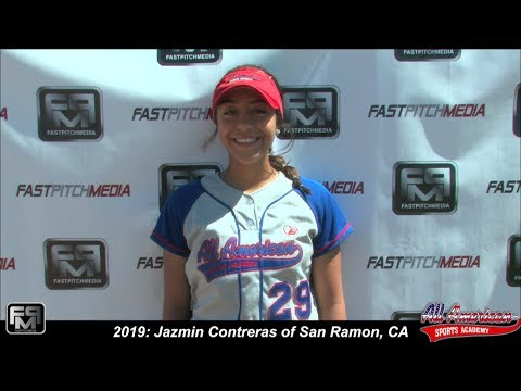 2019 Jazmin Contreras Slapper, Third Base and Second Base Softball Skills Video - AASA - Virchis