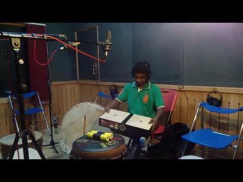 Laptop conga played by musician sunilkumar PK