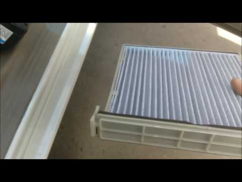 How to change your cabin air filter in a Toyota Camry 2003-2005