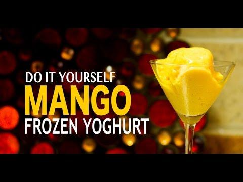 DIYIndian: Do It Yourself Mango Froyo