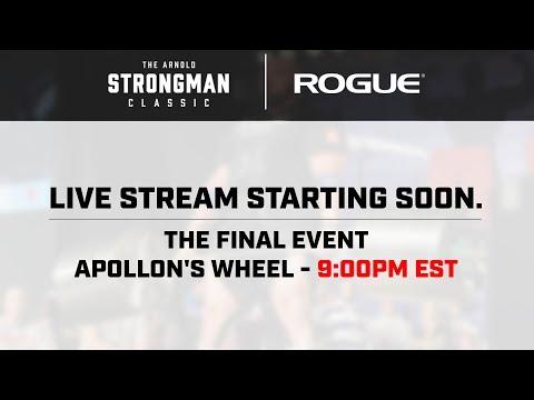 2018 Arnold Strongman Classic | Sat 9:00pm EST