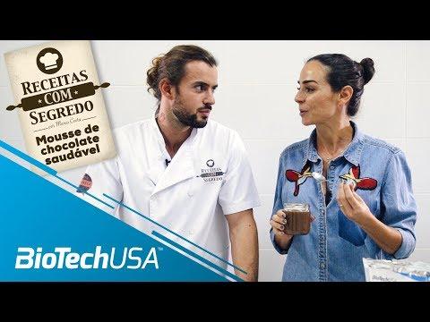 Receitas com segredo por Marco Costa - Mousse de Chocolate Saudável - BioTechUSA