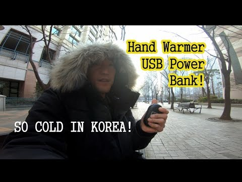 Hand Warmer USB Power Bank Review!