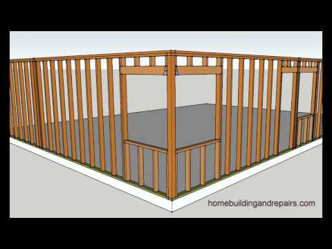 Four Examples of How to Frame Corner Window Walls – Home Building Tips