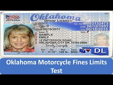 Oklahoma Motorcycle Fines Limits Test