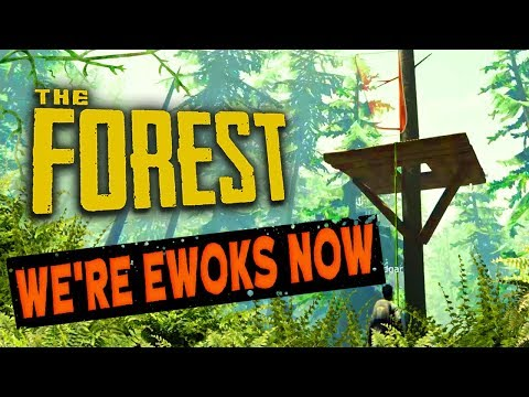 WE'RE EWOKS NOW | The Forest
