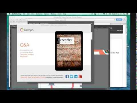 Design a Digital Magazine for iPad in 90 Minutes