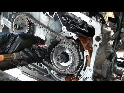 4T65E air testing the clutches