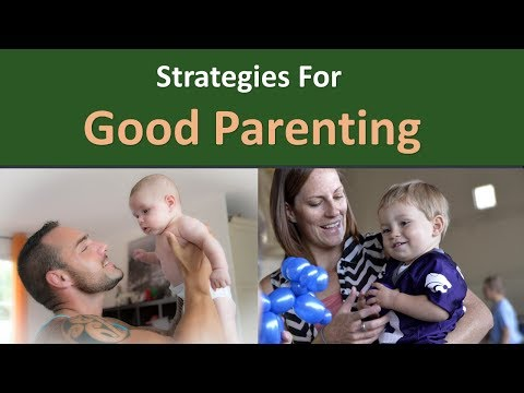 Strategies For Good Parenting.|Modeling.