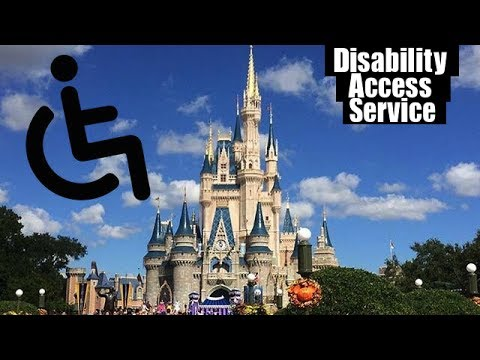 Disability Access Service at Disney World