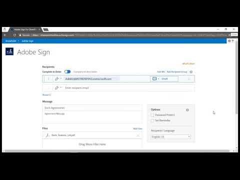 How to integrate Adobe Sign (eSignature Feature) on your SharePoint Intranet Portal?