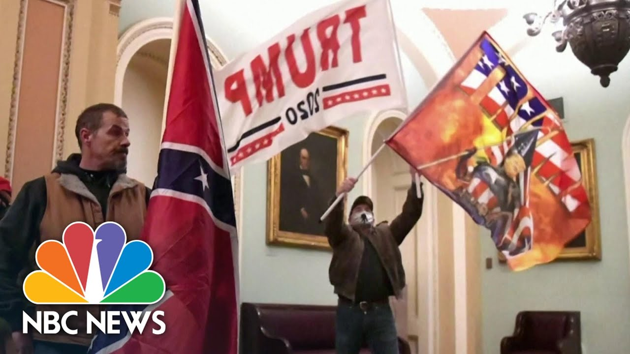 Federal Prosecutors Begin Filing Criminal Charges Against Pro-Trump D.C. Rioters | NBC News NOW