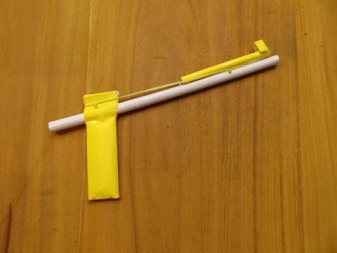 How to Make a Simple Paper Gun that Shoots Paper Bullets - GTa Weapon