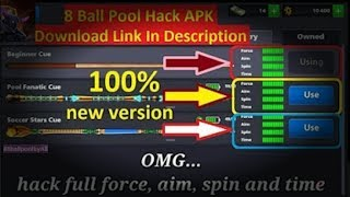8 Ball pool 3 13 4 unlimited level hack, achievements hack