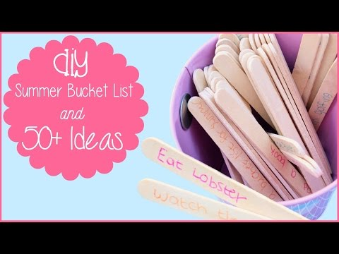 DIY SUMMER BUCKET LIST & 45+ THINGS TO DO | Allie Young