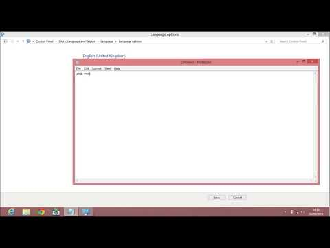 Win 8 Keyboard Problem Fixed