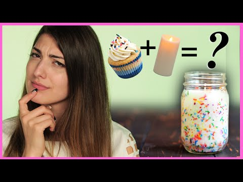 DIY Funfetti Candles With RCLBeauty101 | RCLBeauty101 DIY or DI-Don't