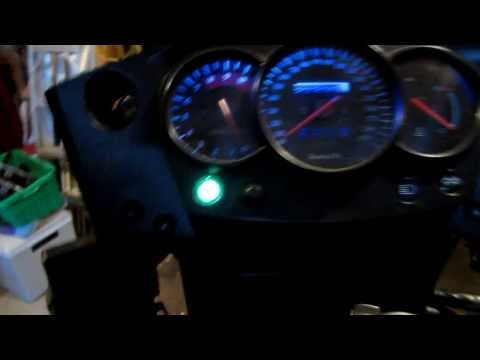 How to install led dash lights on a klr 650