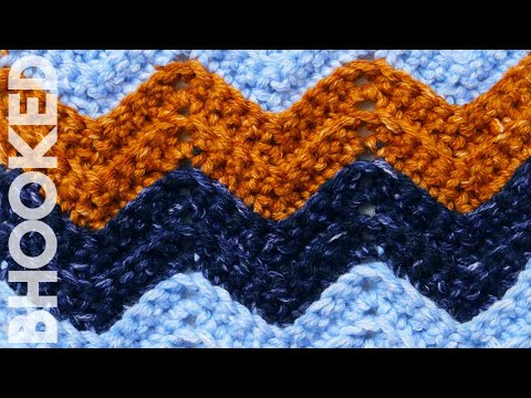 Single Crochet Chevron Stitch