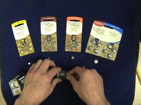 Testing Hearing Aid Batteries