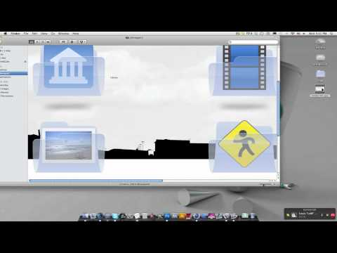 How to change Mac folder backgrounds