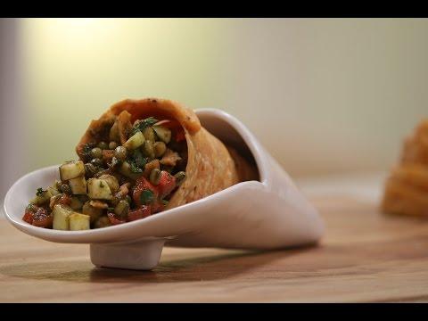 Cone Chaat In Gujarati | Snacky Ideas by Amisha Doshi | Sanjeev Kapoor Khazana