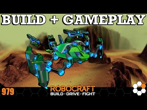 Robocraft - Impossible not to have fun with this Robot